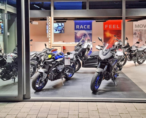 Neuer Yamaha Showroom